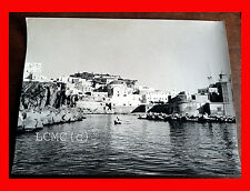 FOTOGRAFIA PHOTO VINTAGE B/N BLACK AND WHITE 1968 L'ISOLA DI PONZA