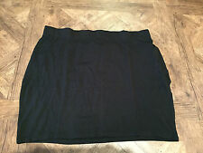 Sexy Black stretch mini tube skirt PLUS SIZE 22 - BNWT,- bodycon, New Look