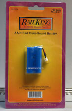 MTH PROTO SOUND AA NICAD REPLACEMENT BATTERY O GAUGE trains 50-1024 NEW