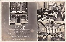 * NETHERLANDS - Amsterdam - Chinese Ind.Restaurant China 1957
