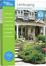 Better Homes Gardens Landscaping and Deck Designer 8.0 8 PC New in Box