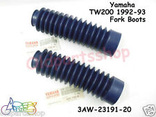 Yamaha TW200 Fork Boot x2 NOS Trailway TW 200 Gaiter Rubber Cover 3AW-23191-20