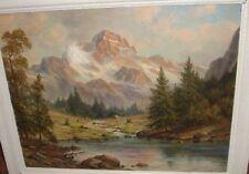 """J.FOKKEN (1881-1962)""""Bergsee vor Alpenmassiv"""" 160/13045"""