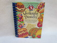 """2nd Printing 2013 Gooseberry Patch """"Weeknight Dinners"""" Hardcover Cookbook ~ New!"""