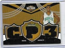 CHRIS PAUL 2007 TOPPS TRIPLE THREADS TRIPLE CP3 GAME USED JERSEY#/27