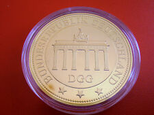 *Münze/Medaille  Vergoldet PP *Brandenburger Tor