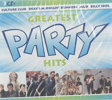 PARTY HITS - LULU / TIGHT FIT /  CHESNEY HAWKES / MUD ETC. - 3 CD SET - (SEALED)