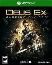 Deus Ex: Mankind Divided - Day One Edition (Xbox One, NEW)