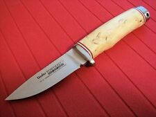 New LINDER Hunting knife - M390 super steel - Solingen, Germany - leather sheath
