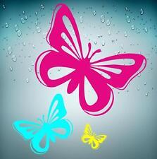 Sticker adesivi adesivo  auto moto tuning muralli farfalla farfelle parete
