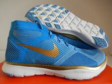 "NIKE FREE TRAIN INSTINCT HART ""KEVIN HART"" BLUE-GOLD-VOLT SZ 13 [848416-474]"