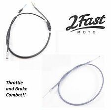 Honda Brake Throttle Cable Combo CT70 Mini Trail 70 CT 70 CT-70 DAX Front 2Fast