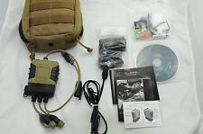 New Silynx C4OPS Tactical Headset System SIN0003-01-AF Wireless PTT