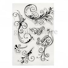 Silicone Rubber Clear Stamp Seal Scrapbooking Diary Christmas Card DIY Craft