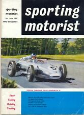 Sporting Motorist magazine Jun 61 Targa Florio Ferrari Citroen Ami Faithorpe
