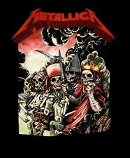 METALLICA cd lgo THE FOUR HORSEMEN Official SHIRT XXL 2X New kill em all
