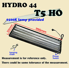 3pcs of Hydroponics T5 HYDRO 44 Propagator Grow Light 4FT with 6500k tubes