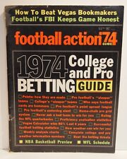 Football Action Guide 74 1974