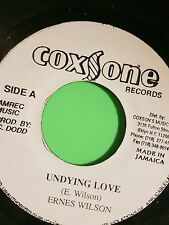 COXSONE RECORDS UNDYING LOVE / VERSON   ERNEST WILSON
