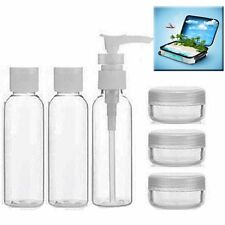 2 x Travel Bottle Sets - Holiday - Flight - each set has 7 pieces - free postage