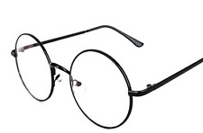 BRAND NEW HARRY POTTER ROUND BLACK FRAME GLASSES COSTUME