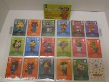 "Animal Crossing amiibo Cards Series 1 Japanese ""Special Cards"" [#001 - #017]"