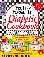 New  Fix It and Forget It Diabetic Slow Cooker Crockpot Recipes Cookbook Revised