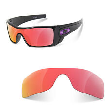 Polarized Replacement Lenses for oakley batwolf ruby red color