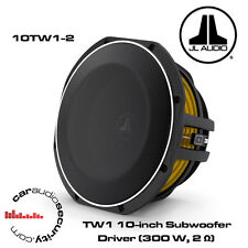 "JL Audio 10TW1-2 - 12"" 300 Watts Shallow Mount Subwoofer Bass Subwoofer"