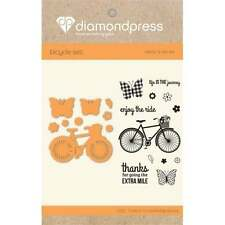 Enjoy the Ride -Crafter's Companion Diamond Press Stamp & Cutting Dies DP1224
