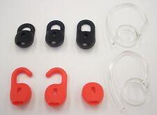 Jabra Stealth Accessory Pack 2 clear earhook 3 EarGel & 3 earwing in BLACK & RED