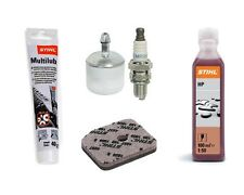 Genuine Stihl hedge trimmer extra service kit HS 81 HS86 hedgecutter oil grease
