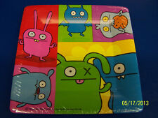 """Uglydoll Ugly Dolls Cartoon Birthday Party Supplies 10.25"""" Square Banquet Plates"""