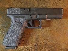 Black Textured Rubber Grips for Glock Gen 3/Gen 4 Models 17, 22, 31, 34, 35, 37