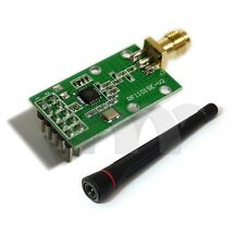 Wireless RF Transceiver Module 433Mhz  CC1101  RF1101SE matched with Antenna