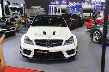 FRP Waald Wider Body Kit Fit For 12-13 Mercedes Benz W204 C63 AMG Sedan 4D