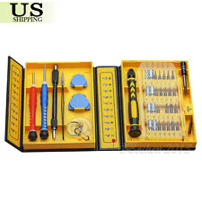 38 in 1 Screwdriver Set Tools Repair Kit CellPhone For iPhone Samsung Laptop PAD