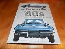 HOT CARS OF THE '60s Autos Porsche Maserati Ferrari BMW Sports Ford GM Car Book