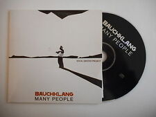 BAUCHKLANG : MANY PEOPLE [ CD ALBUM PROMO PORT GRATUIT ]