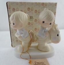 Precious Moments Figurine 9263 How Can Two Walk Together Except They Agree NEW