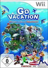 Nintendo Wii Spiel - Go Vacation (mit OVP)