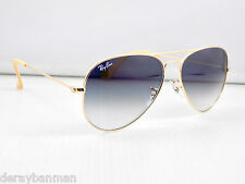 Ray Ban Small Aviator Gradient RB3025 001/3F 55mm Lens & Case