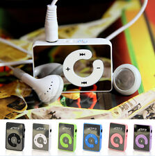 Mp3 Player Digital Music USB With Mini Clip Support 8GB Micro SD TF Car