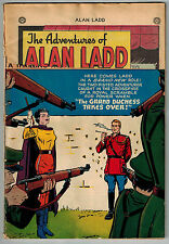 ADVENTURES of ALAN LADD #8 1950 DC GOLDEN AGE COMIC Low Grade 3/4 Cover