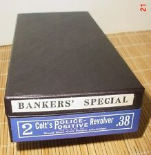 Colt Bankers Special Box  .22 Cal. or .38 Cal. also for  Vintage 2 inch Det. SPL
