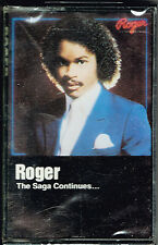 THE SAGA CONTINUES... - ROGER (CASSETTE) BRAND NEW FACTORY SEALED