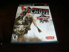 PBR OUT OF THE CHUTE - PLAYSTATION 2 PS2 Complete w/ Box, Manual