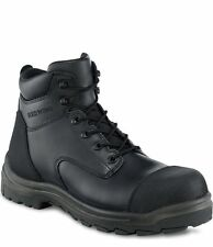 3243 RED WING MEN'S 6-INCH BOOT SAFETY BLACK SIZE 14