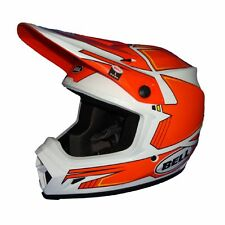 MX OFFRAOD CROSS HELM HELMET BELL MX9 BLOCKADE ORANGE KTM SX 125 350 L  MOTO 9
