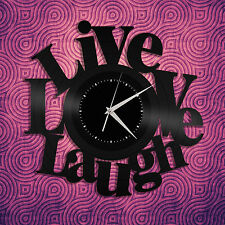Live Love Laugh Sign, Decoration Sign, Inspirational Wall Art, Vinyl Wall Decor